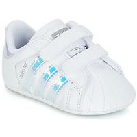 Obuća Djevojčica Niske tenisice adidas Originals SUPERSTAR CRIB Bijela