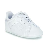 Obuća Djevojčica Niske tenisice adidas Originals STAN SMITH CRIB Bijela