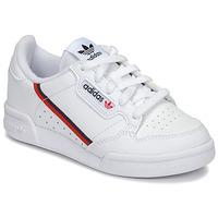 Obuća Djeca Niske tenisice adidas Originals CONTINENTAL 80 C Bijela
