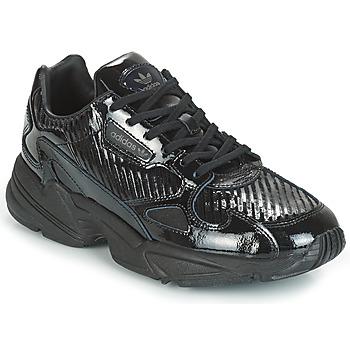 Obuća Žene  Niske tenisice adidas Originals FALCON W Crna / Šljokice