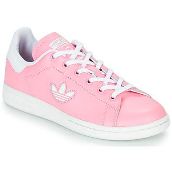 Obuća Djevojčica Niske tenisice adidas Originals STAN SMITH J Ružičasta