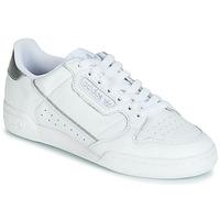 Obuća Žene  Niske tenisice adidas Originals CONTINENTAL 80s Bijela / Srebrna