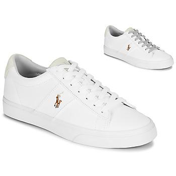 Obuća Muškarci  Niske tenisice Polo Ralph Lauren SAYER Bijela