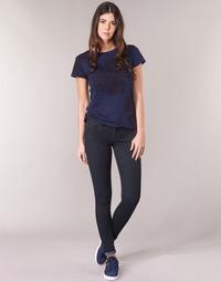 Odjeća Žene  Skinny traperice G-Star Raw LYNN D-MID SUPER SKINNY Blue / Rinsed