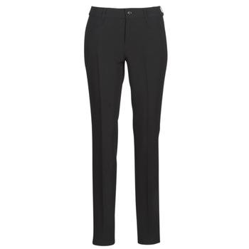 Odjeća Žene  Chino hlačei hlače mrkva kroja G-Star Raw D-STAQ MID SKINNY ANKLE CHINO Crna