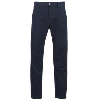 Odjeća Muškarci  Chino hlačei hlače mrkva kroja G-Star Raw BRONSON STRAIGHT TAPERED CHINO Blue