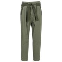 Odjeća Žene  Chino hlačei hlače mrkva kroja G-Star Raw BRONSON ARMY PAPERBAG Kaki