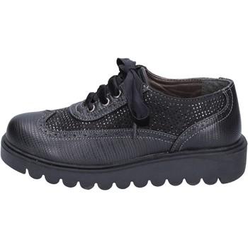 Obuća Djevojčica Derby cipele Didiblu classiche nero pelle strass BT344 Nero