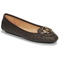 Obuća Žene  Balerinke i Mary Jane cipele MICHAEL Michael Kors LILLIE MOC Smeđa