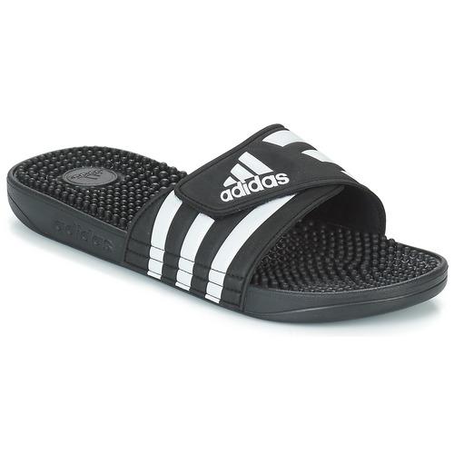 Obuća Sportske natikače adidas Performance ADISSAGE Crna / Bijela