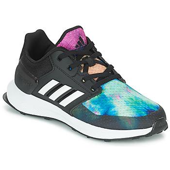 Obuća Djevojčica Running/Trail adidas Performance RAPIDARUN X K Crna