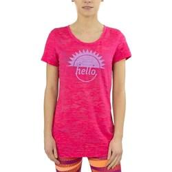 Odjeća Žene  Majice kratkih rukava Reebok Sport RH Burnout Tshirt Ružičasta