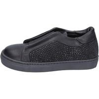 Obuća Djevojčica Slip-on cipele Holalà sneakers nero pelle camoscio BT374 Nero