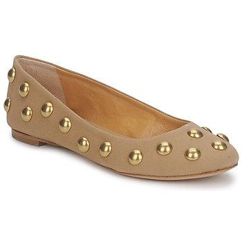 Obuća Žene  Balerinke i Mary Jane cipele Keyté CANDY TESSU Béžová