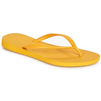 Obuća Žene  Japanke Havaianas SLIM Žuta