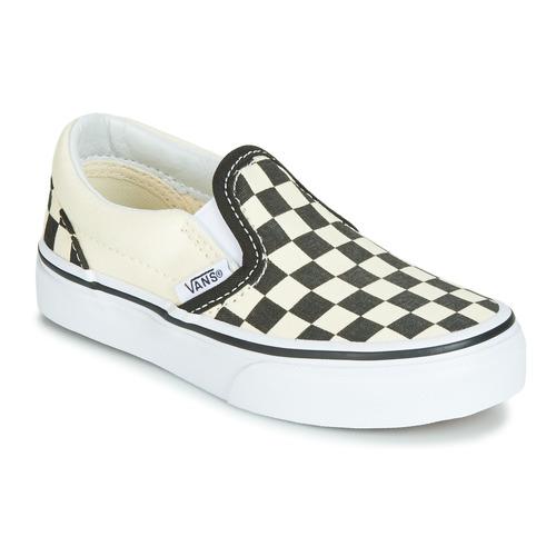Obuća Djeca Slip-on cipele Vans CLASSIC SLIP-ON Crna / Bijela