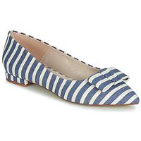 Obuća Žene  Balerinke i Mary Jane cipele Fericelli JILONOU Blue / Bijela