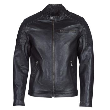 Odjeća Muškarci  Kožne i sintetičke jakne Jack & Jones JCOROCKY Crna