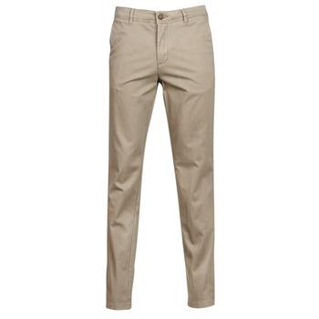 Odjeća Muškarci  Chino hlačei hlače mrkva kroja Jack & Jones JJIMARCO Bež