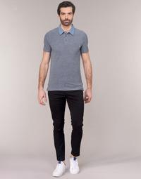 Odjeća Muškarci  Chino hlačei hlače mrkva kroja Jack & Jones JJIMARCO Crna