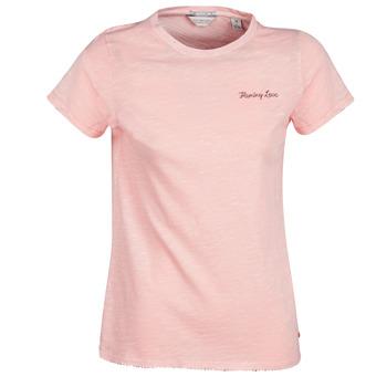 Odjeća Žene  Majice kratkih rukava Maison Scotch SS T-SHIRT Ružičasta
