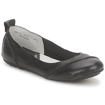 Obuća Žene  Balerinke i Mary Jane cipele Hush puppies JANESSA Crna