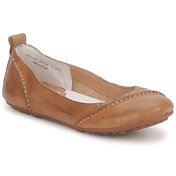 Obuća Žene  Balerinke i Mary Jane cipele Hush puppies JANESSA Smeđa