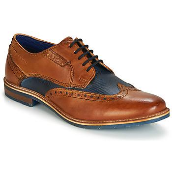 Obuća Muškarci  Derby cipele Bugatti TROISCINQ Boja konjaka / Blue