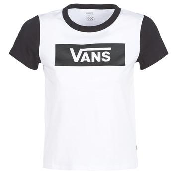 Odjeća Žene  Majice kratkih rukava Vans V TANGLE RANGE RINGER Bijela