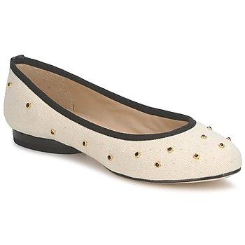 Obuća Žene  Balerinke i Mary Jane cipele Kat Maconie DELILAH Bijela / Crna
