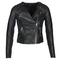 Odjeća Žene  Kožne i sintetičke jakne Vero Moda VMRIA FAV Crna