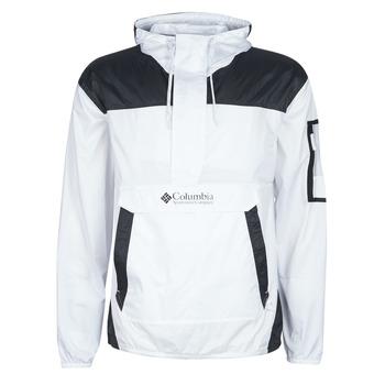 Odjeća Muškarci  Vjetrovke Columbia CHALLENGER WINDBREAKER Bijela / Crna