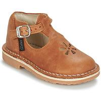 Obuća Djeca Balerinke i Mary Jane cipele Aster BIMBO Boja konjaka
