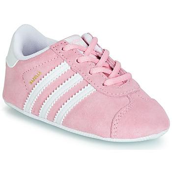 Obuća Djevojčica Niske tenisice adidas Originals GAZELLE CRIB Ružičasta