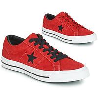 Obuća Muškarci  Niske tenisice Converse ONE STAR DARK STAR VINTAGE SUEDE OX Red