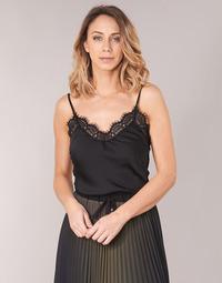 Odjeća Žene  Topovi i bluze Ikks BN11105-02 Crna