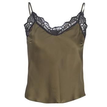 Odjeća Žene  Topovi i bluze Ikks BN11105-56 Kaki
