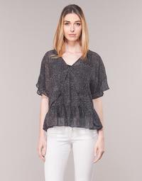 Odjeća Žene  Topovi i bluze Ikks BN11175-02 Crna