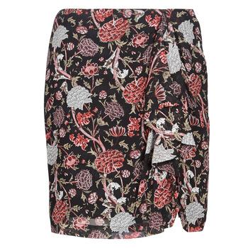Odjeća Žene  Suknje Ikks BN27105-02 Crna / Multicolour
