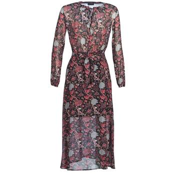 Odjeća Žene  Duge haljine Ikks BN30065-02 Crna / Red / Siva