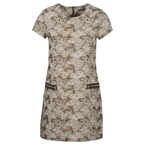 Odjeća Žene  Duge haljine Ikks BN30165-65 Kaki / Bež