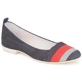 Obuća Žene  Balerinke i Mary Jane cipele Marithé & Francois Girbaud BRUMES Džínová modř