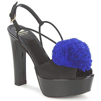 Obuća Žene  Sandale i polusandale Moschino Cheap & CHIC CA1608 Crna-plava