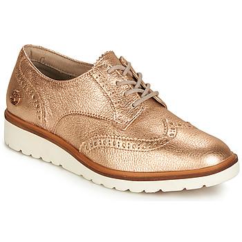 Obuća Žene  Derby cipele Timberland ELLIS STREET OXFORD Ružičasta / Zlatna