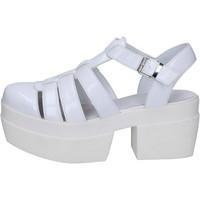 Obuća Žene  Sandale i polusandale Cult sandali bianco pelle BT539 Bianco