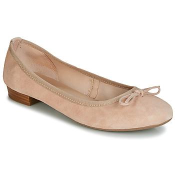 Obuća Žene  Balerinke i Mary Jane cipele André CINDY Nude