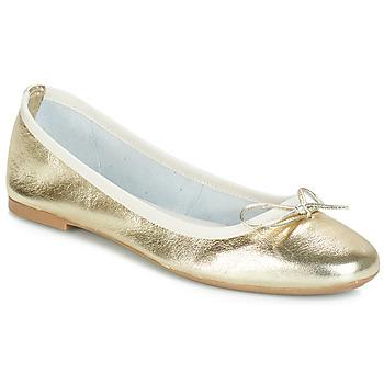 Obuća Žene  Balerinke i Mary Jane cipele André PIETRA Gold