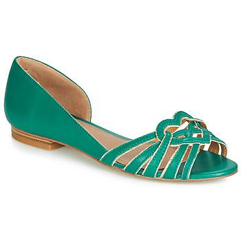 Obuća Žene  Balerinke i Mary Jane cipele André CHRISTIE Zelena