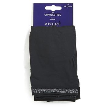 Tekstilni dodaci Žene  Čarape André MARGUERITE Crna