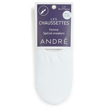 Tekstilni dodaci Žene  Čarape André TATIANA Bijela